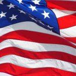 Amerikaanse vlag voor thema feesten te huur