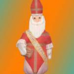 Sinterklaas pop opblaasbaar
